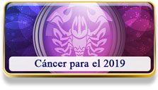 Cáncer para el 2019