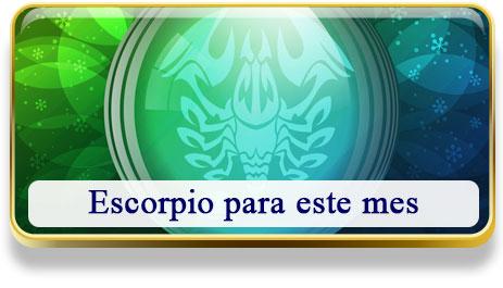 Escorpio del mes