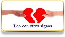 Leo con otros signos
