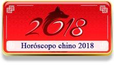 Horóscopo chino 2018
