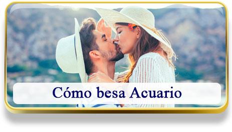 Cómo besa Acuario