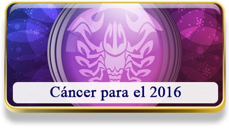 Cáncer para el 2016