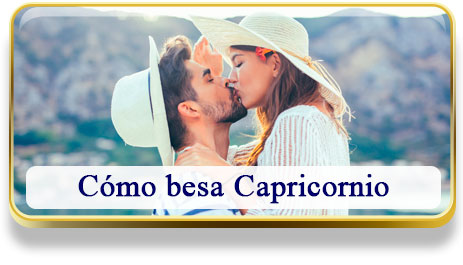 Cómo besa Capricornio
