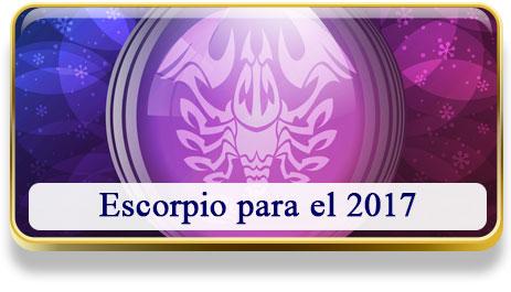 Escorpio para el 2017