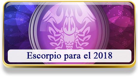 Escorpio para el 2018