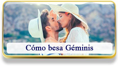 Cómo besa Géminis