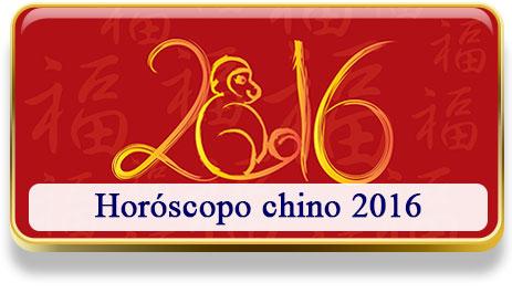 Horóscopo chino 2016