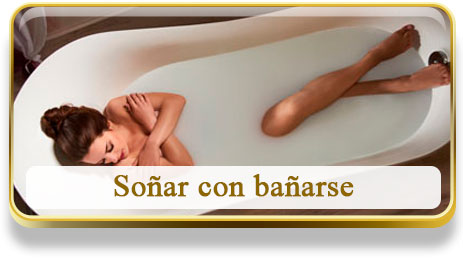 Soñar con bañarse