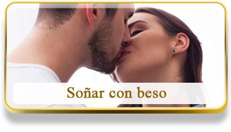 Soñar con beso