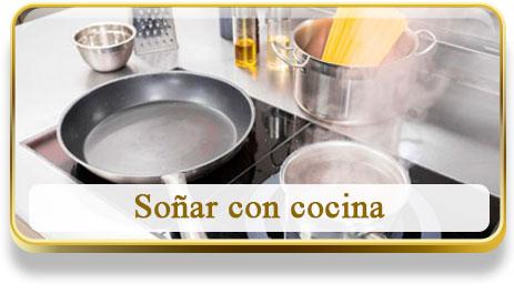 Soñar con cocina