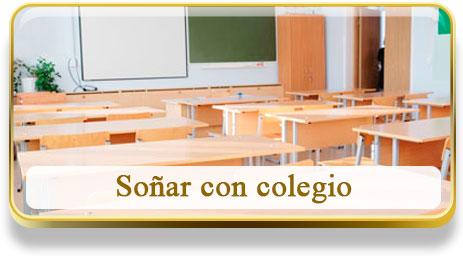 Soñar con colegio