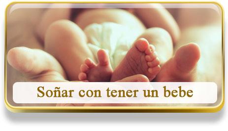 Soñar con tener un bebe