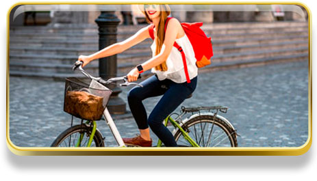 Que significa soñar con bicicleta